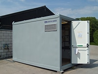 Portable railway substations - exterior