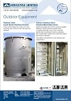 Outdoor equipment brochure