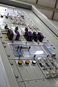 Automatic voltage control (AVC) and tap change control panel
