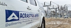 protection & control sectors - electricity substation