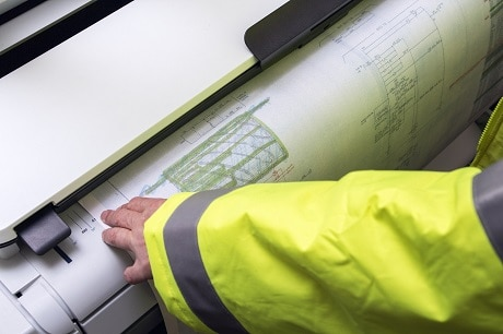 Site survey and drawing audit - scanning on site
