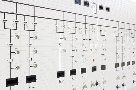 protection & control equipment for Tamnamore - 110kv mosaic mimic control panel